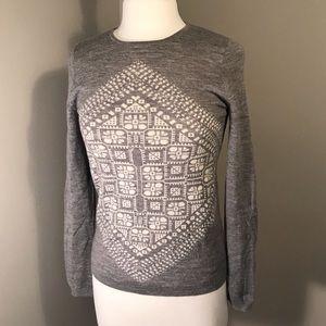 J. Crew Long-Sleeve 100% Merino Wool Sweater sz S